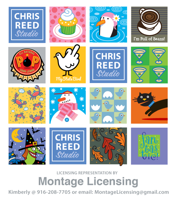 Chris Reed is represented by Montage Licensing